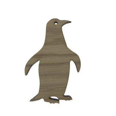 Børneknage formet som en pingvin