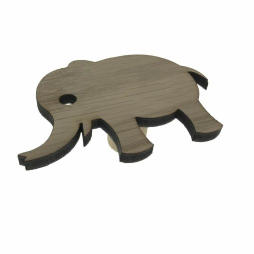 Smuk elefant design lavet som børneknage til indretning af unik børneværelse