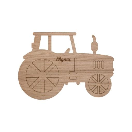 traktor lampe med graveret navn
