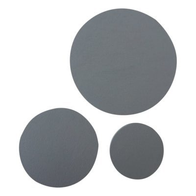 Runde knager sæt - grå - Afairytale