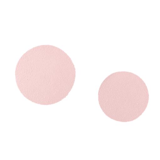 Runde knager lyserød