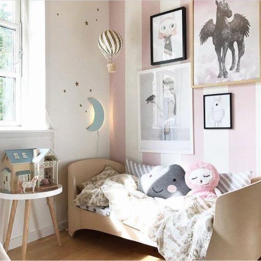 LED månelampe til børneværelse