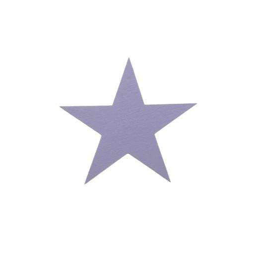 wallsticker stjerne i træ