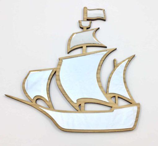 Pirat skib spejl