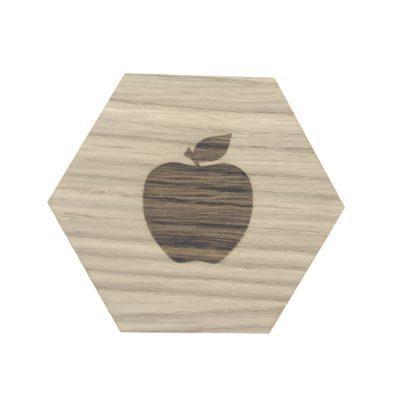 design plade med æble