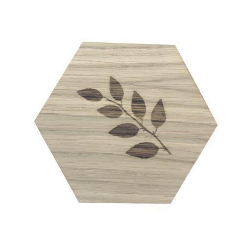 design plade med birkeblade