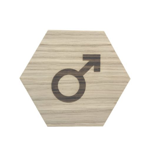 design plade med drenge tegn