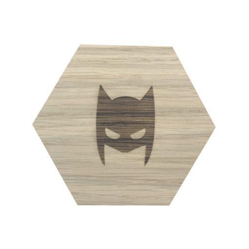Design plade med maske