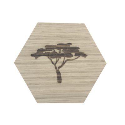 design plade med træ