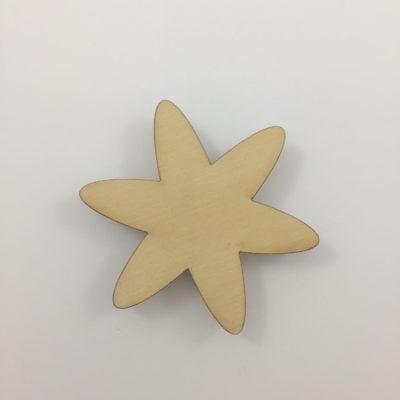 Sødt rundt stjerne greb til børneværelset