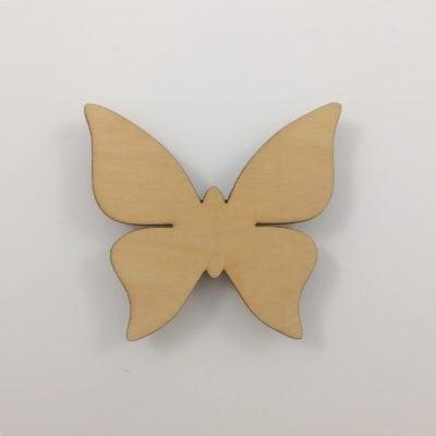 Smukt sommerfugl greb til børneværelset