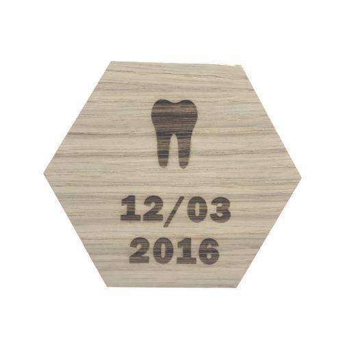Tand og dato design plade