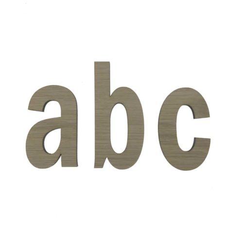 Sammensæt både vores små og store bogstaver.
