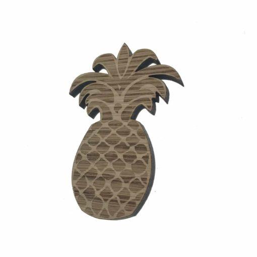 Ananas lavet i 6 mm træ