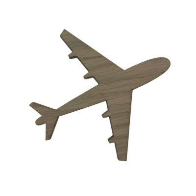 Smuk knage formet som et fly, børneknage til drengeværelset