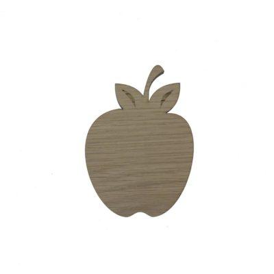Æble som vægdekoration til børneværelset, godt over et legekøkken