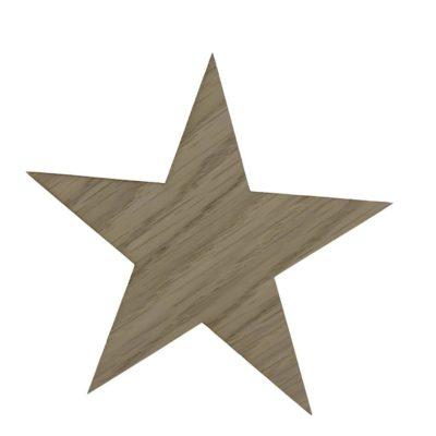 Smuk knage formet som en stjerne til pigeværelset
