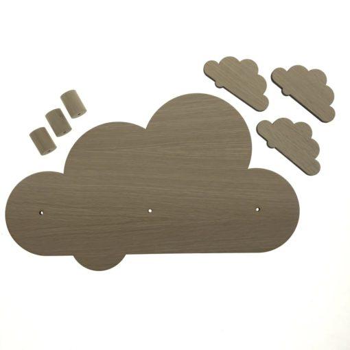 Dele til sky knagerække til børn
