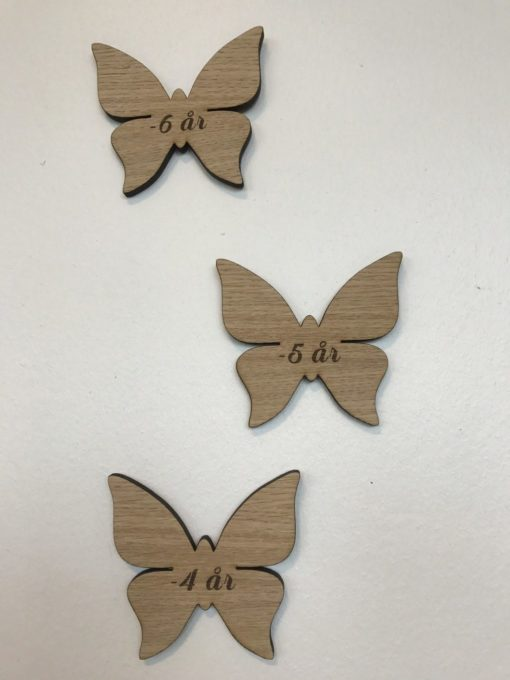 Smuk sommerfugl mærker til højdemåler
