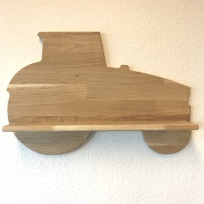Traktor hylde som passer perfekt til drengeværelset