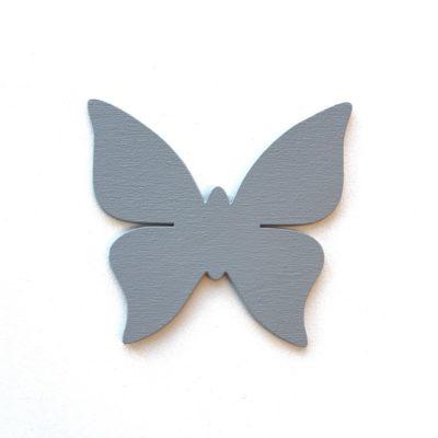 sommerfugl på væg, wood sticker til børneværelse