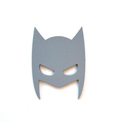 Smuk grå maske wood sticker