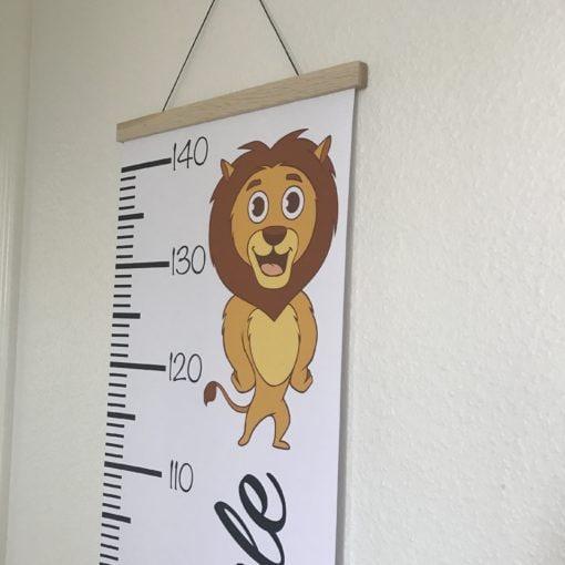 Løveplakat med højdemåler