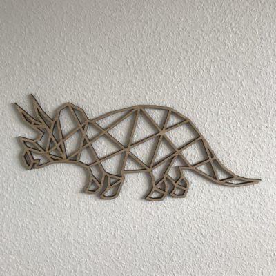 Geometric dino vægdekoration