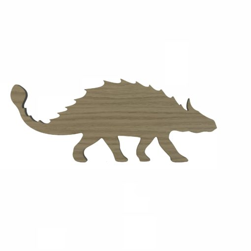 Ankylosaurus dekoration til børneværelset
