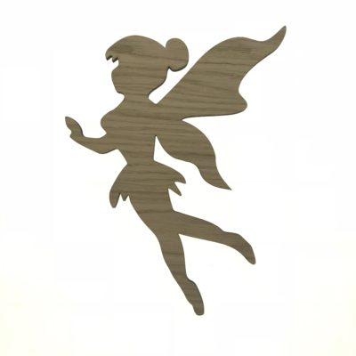 Væg dekoration - flyvende fe til væg på baby værelse