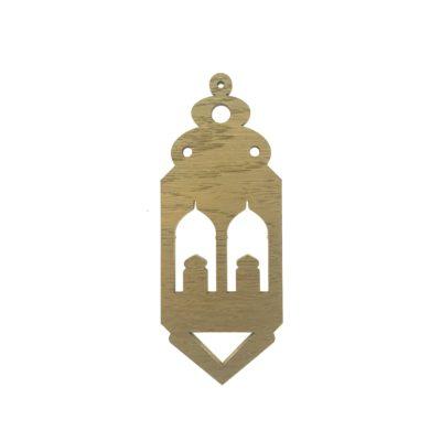Ramadan pynt - lanterne i guld