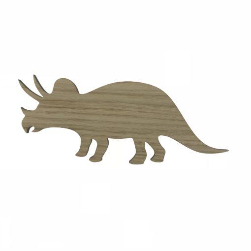 Triceratops dekoration til børneværelset