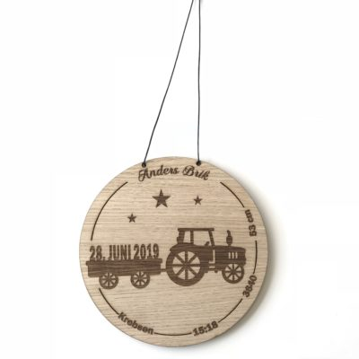 Traktor fødselstavle egetræsfiner
