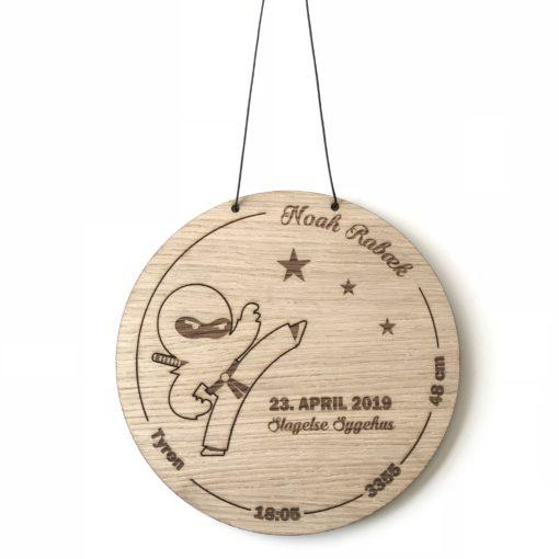 Ninja fødselstavle egetræsfiner