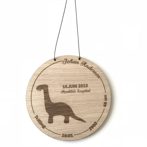 Dino fødselstavle egetræsfiner