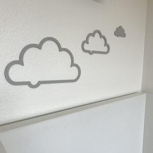 Alm sky sæt til væg - akryl