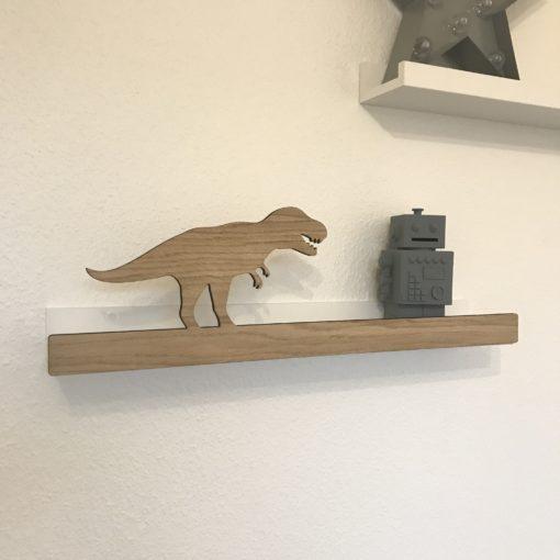 T-rex hyldefront til børneværelset - Ikea hack