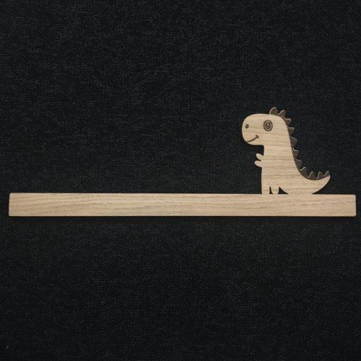 Hyldefront med baby dino t-rex