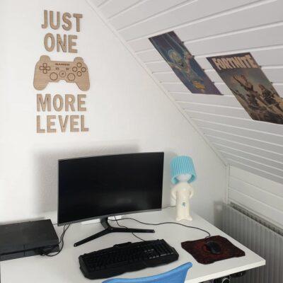 Gamer værelse - just one more level