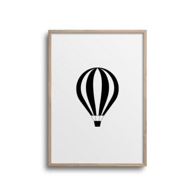 luftballon plakat