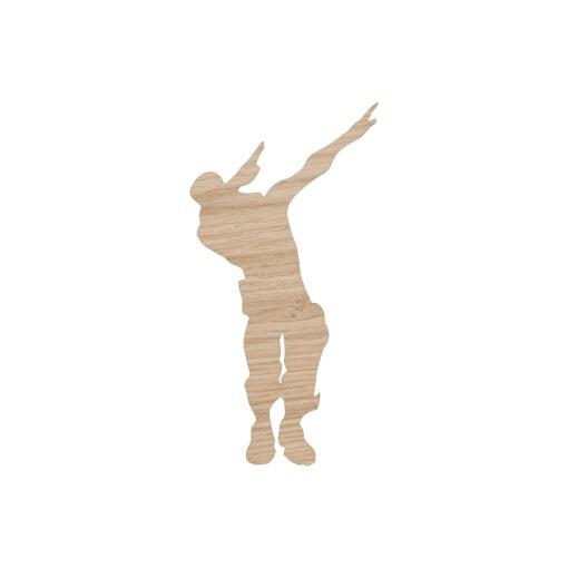Dab danser 50 cm - drenge værelse