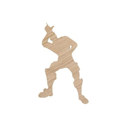kæmpe danser til børneværelset - take the L