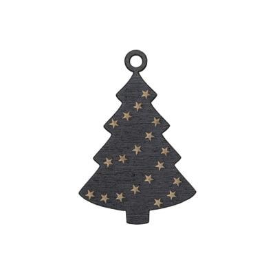 juletræ med stjerner