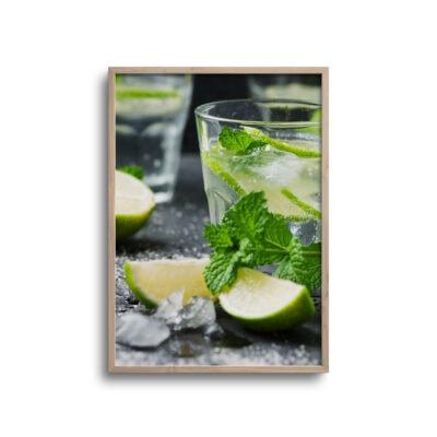 mojito drink plakat