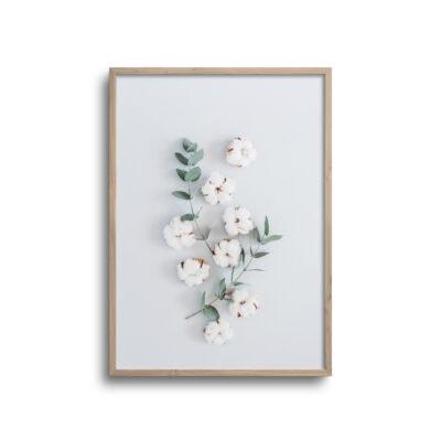 faltlay plakat af blomst