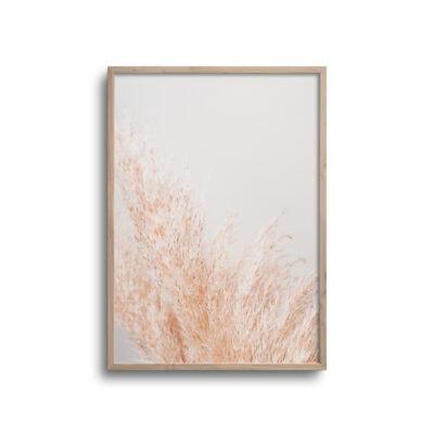 plakat af blomst i lyse farver