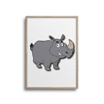 næsehorn plakat