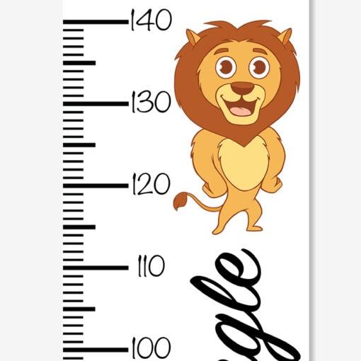 Højdemåler løve king of the jungle (zoom)