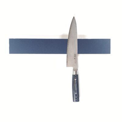 Smokey blue knivholder - egetræ